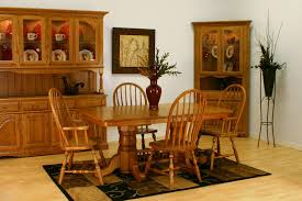 Oak Wood Chairs Dining Winda  Furniture - French country dining room set