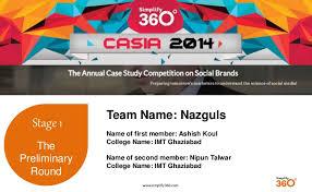 Casia 2014 preliminary round nazguls imtg