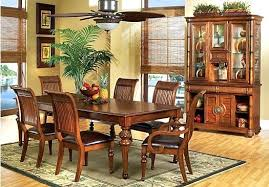 wonderful home endearing tropical dining room sets on tommy bahama home bali hai double pedestal tropical dining room furniture d3 room