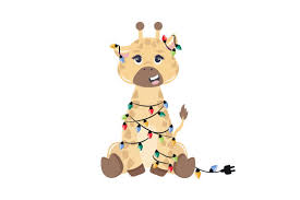 Free svg image & icon. Christmas Giraffe Svg Cut File By Creative Fabrica Crafts Creative Fabrica