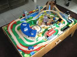 imaginarium classic train table with roundhouse wooden train setinstructions build wooden toy truck search results diy
