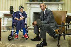 oval office july 2015. Michigan Woman Believed To Be Oldest U.S. Veteran Dies At 110, Met Obama In  July Oval Office July 2015 E