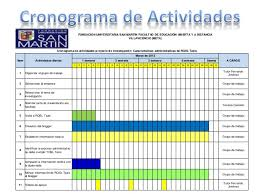 Formatos De Cronogramas De Actividades Formato Excel Cronograma De Actividades Under Fontanacountryinn Com