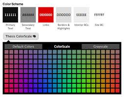 run a killer website the thesis wordpress theme thesis color scheme picker