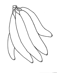 Small Picture 2014 printable banana coloring pages for preschoolers Coloring Point