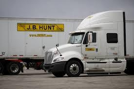 Jb Hunt Intermodal J B Hunt Profit And Revenue Rise Wsj