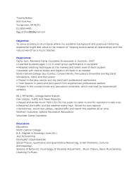Musician Resume Samples 21 Vinodomia
