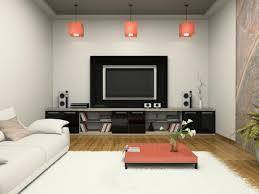 contemporary media room decorating arrangement idea. Black And White Media Room Contemporary Decorating Arrangement Idea O