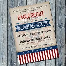 Eagle Party Decorations Eagle Scout Invite Etsy