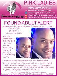 MissingMinorsPinkLadies FOUND De Deur... - Missing Minors The Pink Ladies  Organization - Ngo 2007 | Facebook