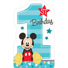 1st Birthday Mickey Mouse Invitations ...