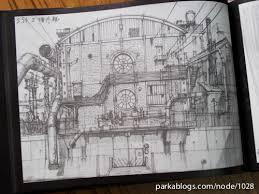 tekkon kinkreet art book background sketches 15