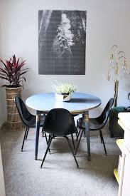 my metallic blue kitchen table transformation painted furniture size=634x922&nocrop=1