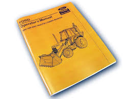 ford 655 backhoe ford 555c 655c tractor loader backhoe operators owners manual maintenance lube