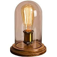 edison table lamp vintage home lighting. Surpars House Vintage Desk Lamp Glass Shade Table Edison Bulb Included Edison Table Lamp Vintage Home Lighting