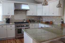 This Kitchen Features Coast Green Granite Countertops And Classic