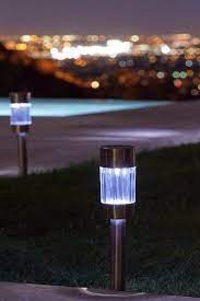 solar lights to brighten your garden