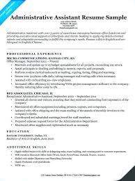 Office Administrator Resume Sample System Administrator Resume