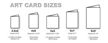 Note Cards Sizes Caydeniz