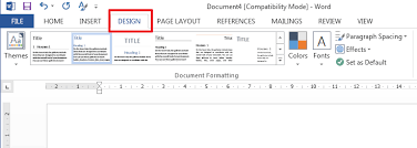 Word 2013 Themes Computer Full Information Modify Or Create A New Style In
