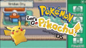 Pokemon Images: Pokemon Lets Go Pikachu Nds Rom Hack