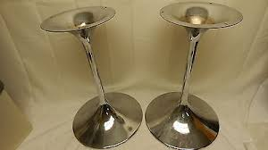 bose 901 vintage. rare original vintage bose 901 chrome tulip pedistal speaker stands canada made a