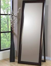 Home Decor, Ikea Stand Up Mirror With Unique Decorative Vase Coaster Accent  Mirrors Long Floor