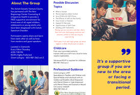 Free Childcare Advertising Free Childcare Archives Autism Society Ventura County