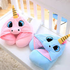 office sleeping pillow. Image Is Loading Soft-Unicorn-Neck-U-pillow-Sleeping-Hooded-Pillow- Office Sleeping Pillow R