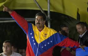 venezuela s newly elected president nicolas maduro celebrates his victory at the miraflores palace in caracas