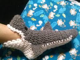 Crochet Shark Slippers Pattern Free Fascinating CROCHET SHARK SLIPPER SOCKS MENS WOMENS AND BY GRANYSTITCHES48 On