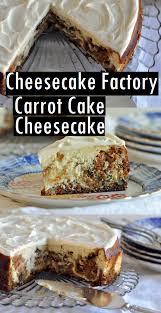 Cheesecake Factory Carrot Cake Cheesecake Sundayrecipes