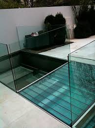 basement pool glass. Simple Basement Float Glass Panel  For Walkways Nonslip Transparent With Basement Pool Glass S