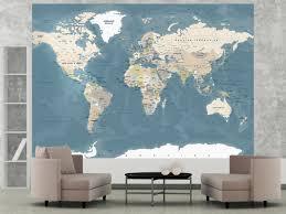 photo wallpaper vintage world map