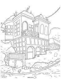 Magic Tree House Coloring Pages Printable With Free Books