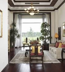 Living Room With Cement Fireplace U0026 Hardwood Floors In Washington Painted Living Room Floors