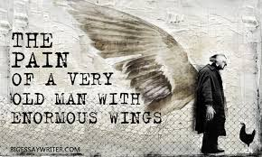 the pain of a very old man enormous wings essay the pain of a very old man enormous wings essay