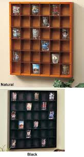 collectors 36 shot glass display shelf bar case cabinet curio rack man cave 1 of 1 see more