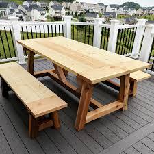 diy outdoor farmhouse table. DIY- Farmhouse Table Build, Truss Beam Table, Outdoor Woodworking Project, Diy
