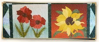 Applique quilt patterns. Wild flowers, wall hanging, landscape ... & Applique quilt patterns. Wild flowers, wall hanging, landscape, seascape quilt  patterns Adamdwight.com