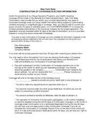 Sample Cobra Termination Letter Group Health Insurance Group Health Insurance Termination