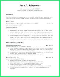 Student Nurse Resume Best New Nursing Grad Resume New Graduate Nurse Resume Examples