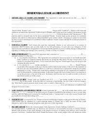 Printable Blank Lease Agreement Form Template Flowchart