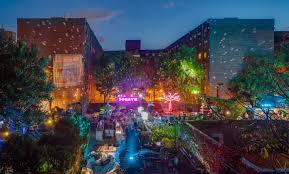 Dumbo Light Festival 2017 New York Festival Of Light Premieres In Nyc For The First