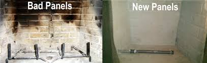 fireplace refractory panels fireplace ideas chimney repairs and fireplace repairs ashesbgone