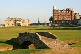 st andrews old course golf vinyl wall mural individual sports