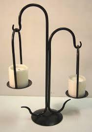 Metal Candle Holder Designs Iron Design Wrought Iron Candelabra Hanging Candle Holder