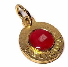 details about st pope john iii 2nd class relic medal pendant charm