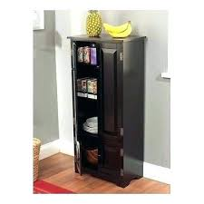 tall black storage cabinet. Black Storage Cabinet With Door Attractive Doors Tall Dark Wood Narrow Pantry Linen For