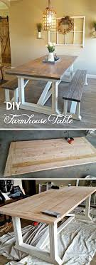 check out the tutorial how to build a diy farmhouse dining table homedecorideas